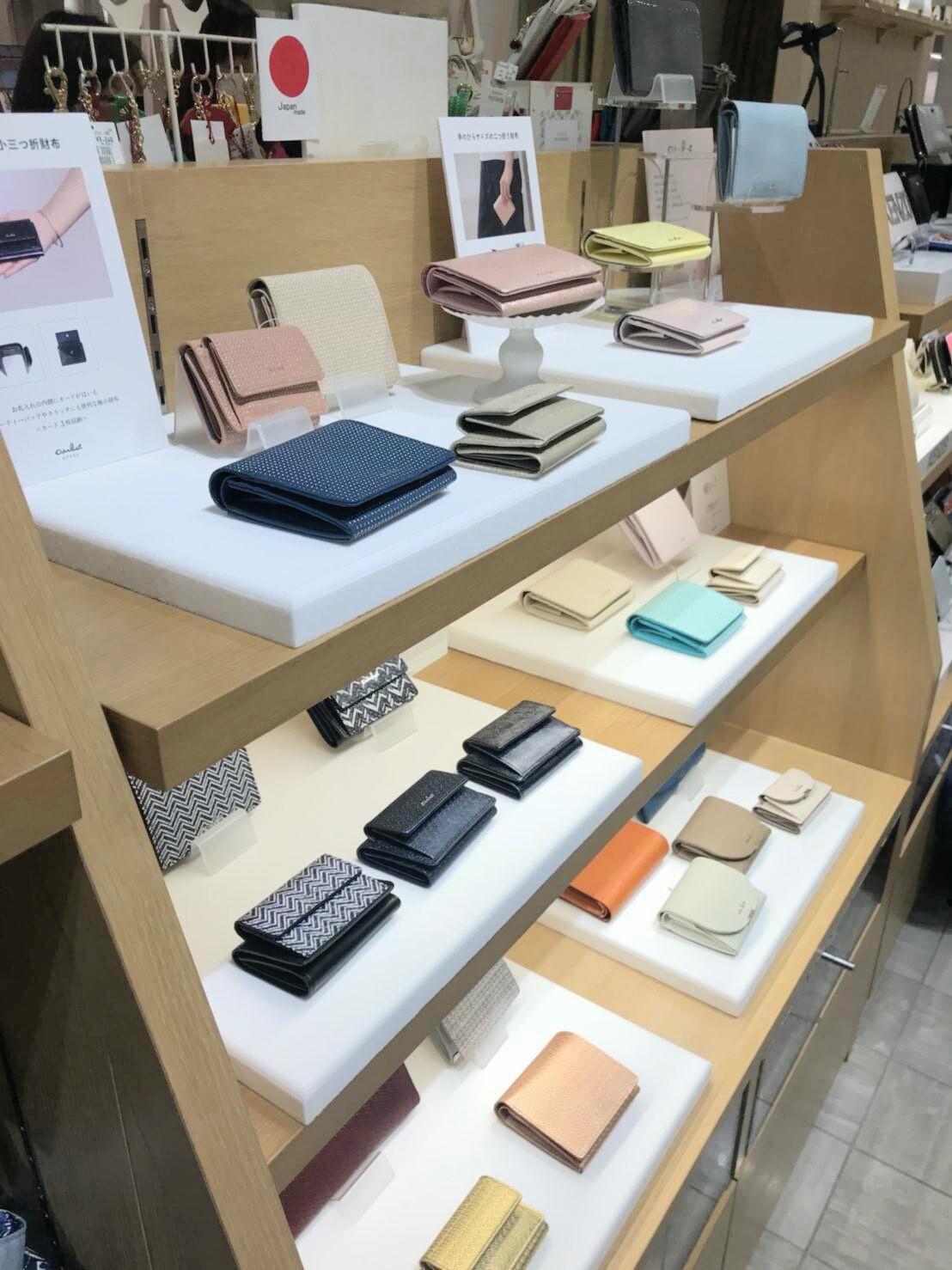 渋谷 渋谷ヒカリエ エアリスト コンパクト財布 ミニ財布 折財布 ちい財布