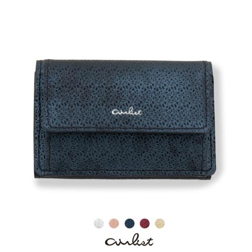 三つ折り財布 財布 小さい財布 エアリスト 軽い財布 薄い財布 軽やか wallet airlist リリィ