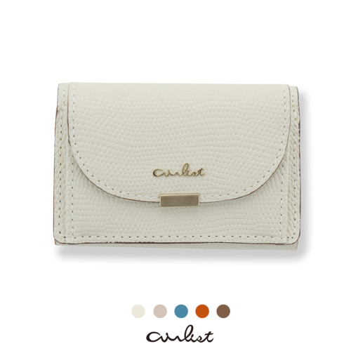 三つ折り財布 財布 小さい財布 エアリスト 軽い財布 薄い財布 軽やか wallet airlist ルナ