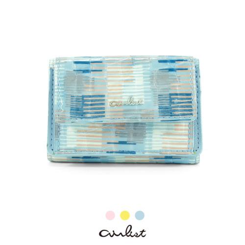 三つ折り財布 財布 小さい財布 エアリスト 軽い財布 薄い財布 軽やか wallet airlist プール