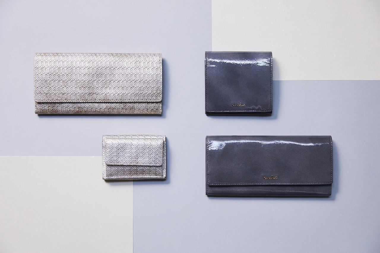 シルバーグレイ グレー 財布 エアリスト