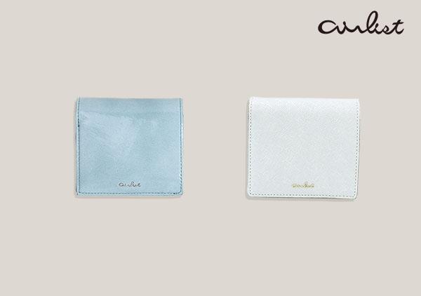 エアリスト 財布 ブルー ホワイト