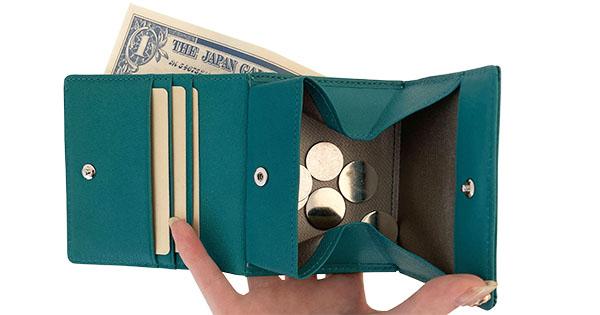 軽い財布エアリストの二つ折り財布